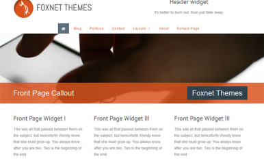 Two new WordPress Themes