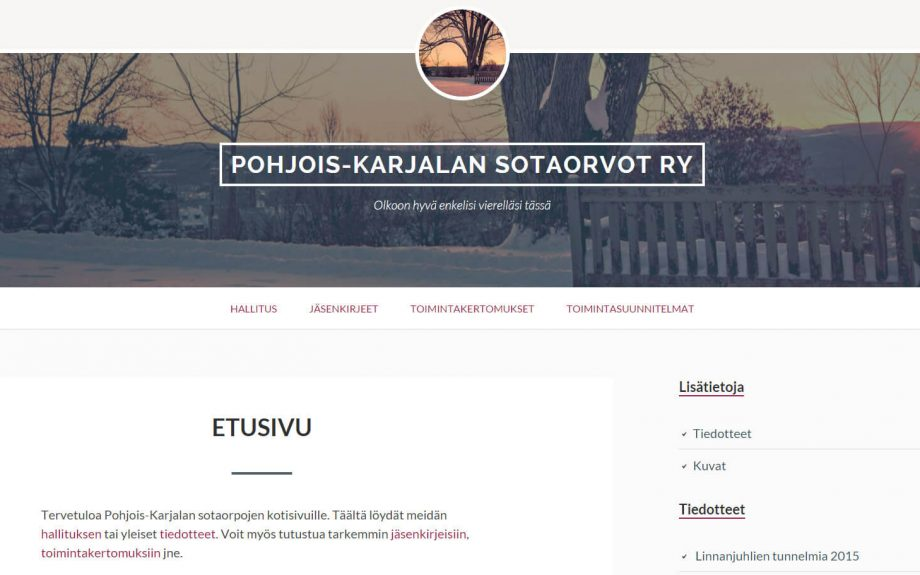 Pohjois-Karjalan sotaorvot